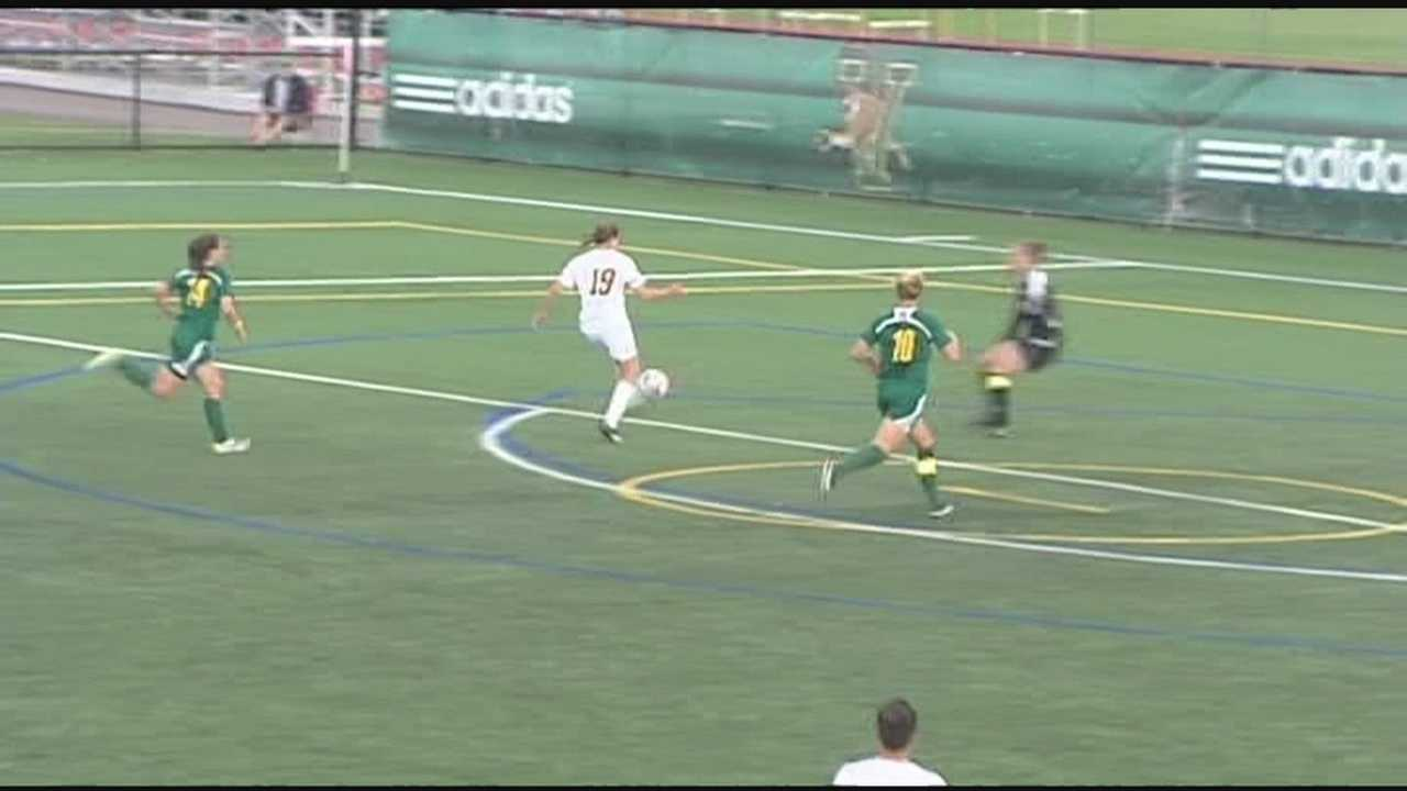 After a slow start, Vermont women's soccer is able to rebound and tie Siena.