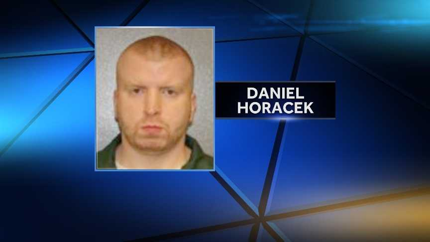 Daniel Horacek, 27, of Jay, NY, was arrested Sept. 16, 2014 by NYSP on multiple charges relating to sexual assault. Horacek is accused of sexually abusing two females over a course of several years prior to 2004.