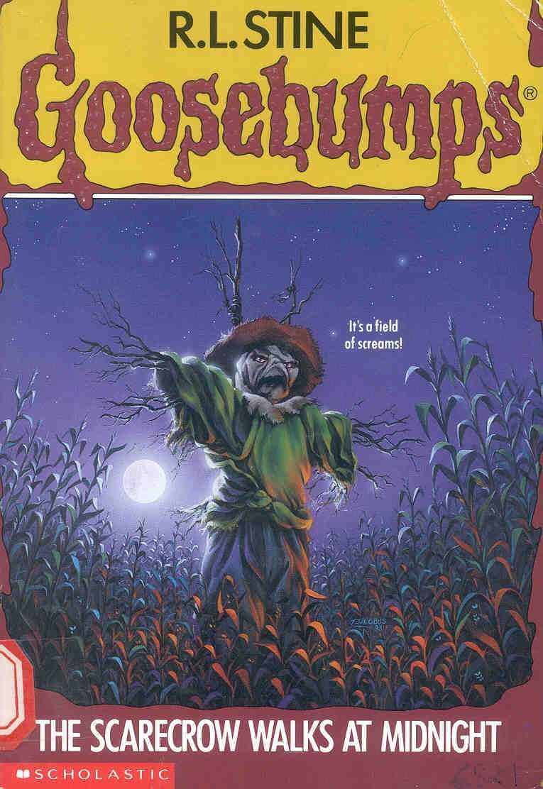 My favorite series of books as a kid has to be Goosebumps!