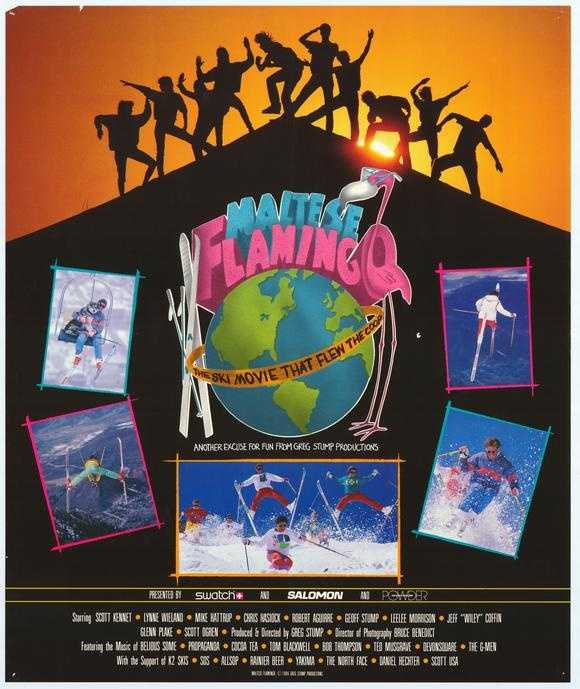 Most kids watched Sesame Street and Mr. Rogers when I was little. I saw some of that… but I LOVED watching ski movies. My all-time favorite was Maltese Flamingo.