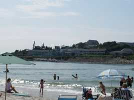 My family spent many a summer day hanging out at the beaches of New Hampshire and Maine. Here's a picture from Ogunquit Beach in Maine.