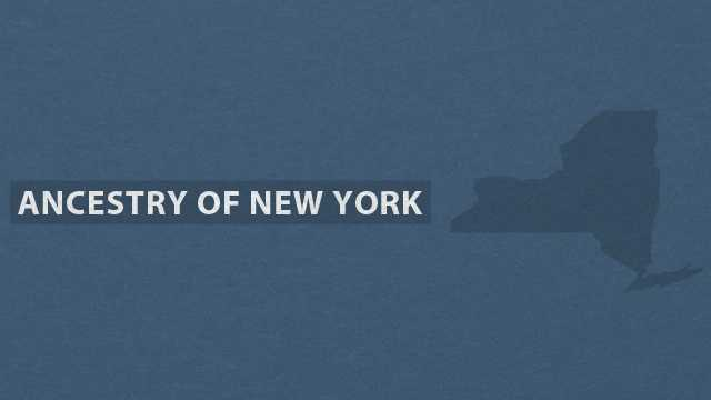Take a closer look at the breakdown of ancestries in New York in this slideshow based on data from the U.S. Census Bureau American Community Survey.