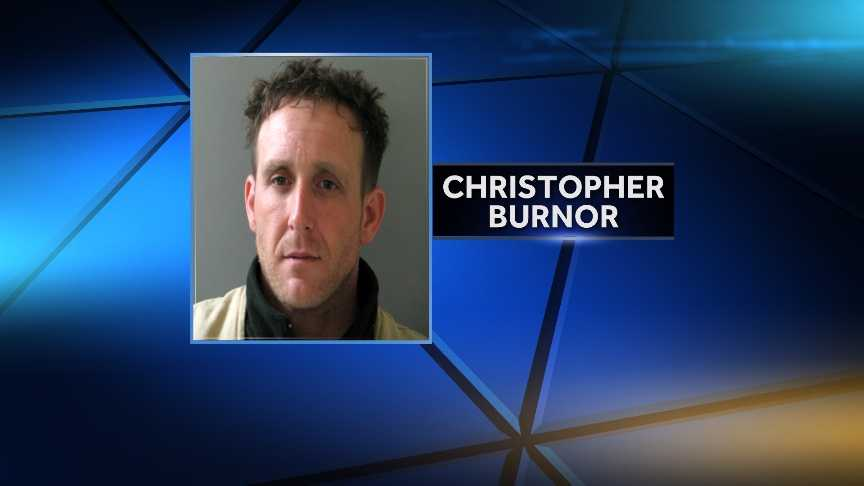 Christopher Burnor, 39, of Waterville, Vermont, was arrested by the Morristown Police Department Wednesday night in connection with a shooting outside a gas station that afternoon. Police say Burnor will be charged with attempted first-degree murder.