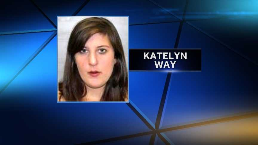 Katelyn Way, 21, of Altona, New York, was arrested by New York State Police on Sept. 23, 2014 for allegedly having sexual relations with a 16-year-old boy. Way was charged with third-degree rape, third-degree criminal sex act, and endangering the welfare of a child.