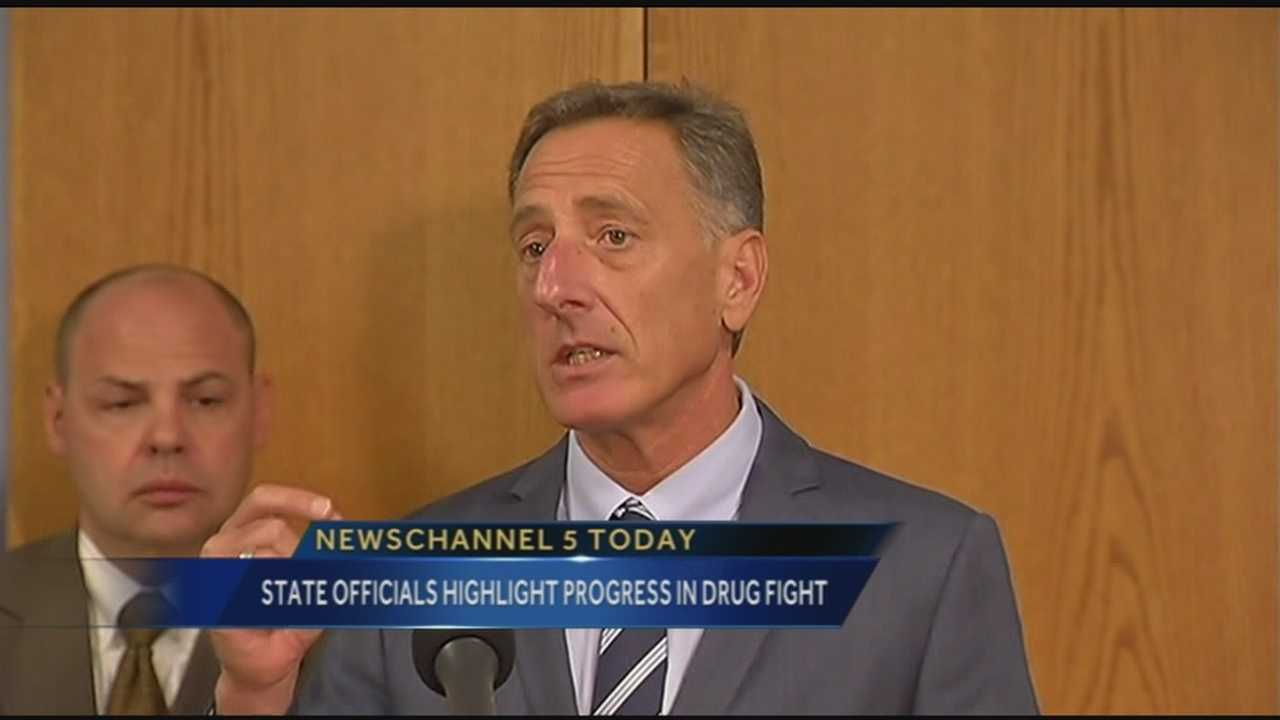 On Tuesday, Vermont Governor Peter Shumlin, along with substance abuse experts and medical personal detailed the progress the state has made in fighting opiate addiction.