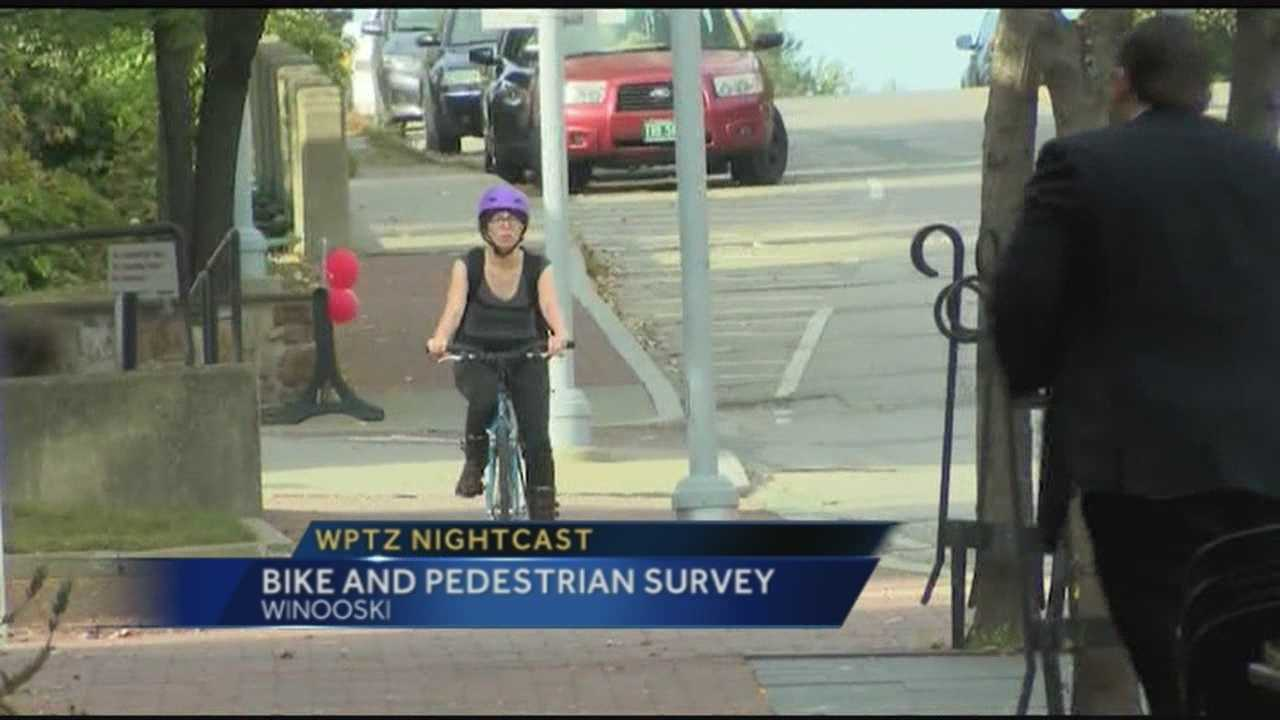Survey designed to get information about cycling and walking habits.