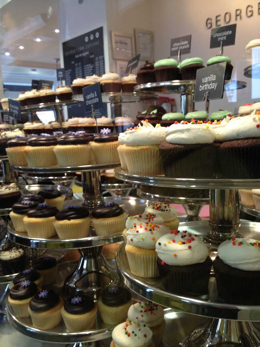 I love baking! I LOVE all things chocolate! I loved visiting Georgetown Cupcakes in DC!