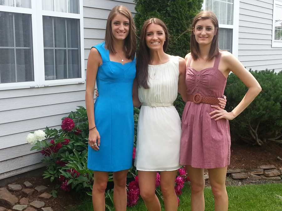 My sisters, Danielle and Kristen basically complete me. I don't think the three of us have lived within a thousand miles of each other since high school, but it has actually made us closer. If I had to describe our relationship, unconditional love would be an understatement! I also have a fantastic brother-in-law, Krystian, who is loved equally!