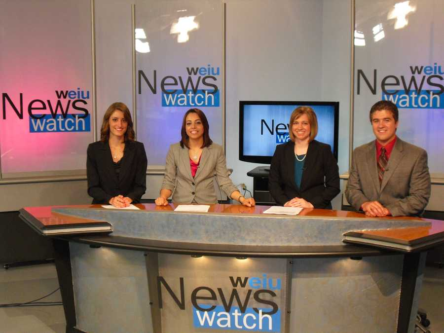 While at EIU I volunteered for my school's live, 5 day a week, 30 minute, Emmy award winning news cast, WEIU News Watch. It was really tough balancing that and everything else going on in college, but worth it! We were lucky to have such a great broadcast program!