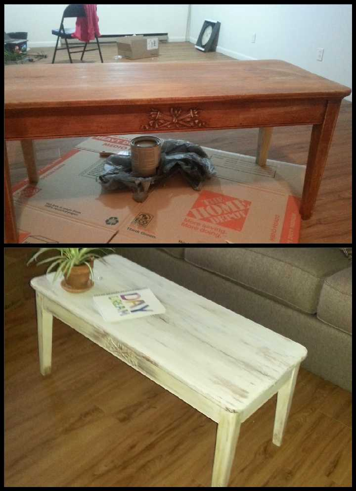 Crafting is also a hobby of mine. I especially enjoy scrapbooking. I have a ridiculously large collection of paper and scissors and stickers and all things scrapbooking. It works for me because I also have a picture taking obsession. But I also enjoy DIY home projects, like this coffee table I repainted.