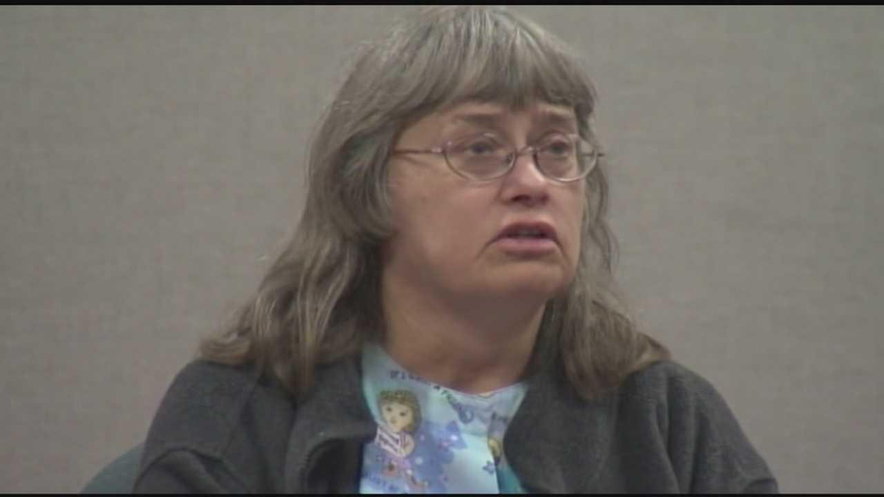 Donna Prue, Allen Prue's mother, testified at her son's murder trial.