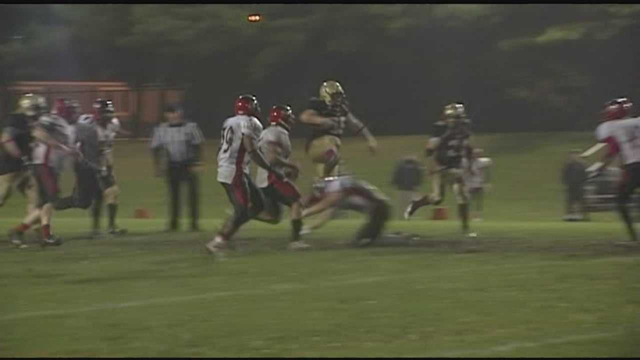 WPTZ counts down the week's top plays of the week, with 3 soccer plays, football, and uvm hockey.