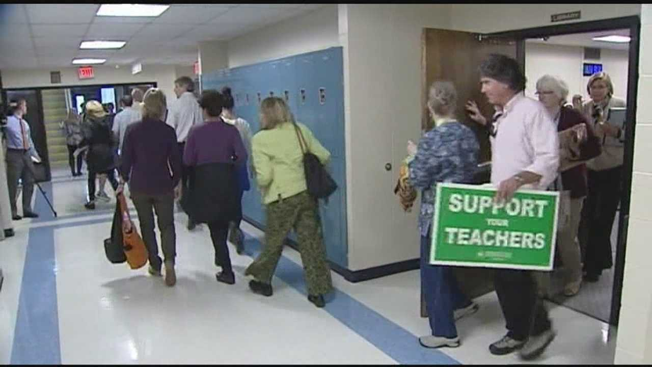 School board releases new contract proposal