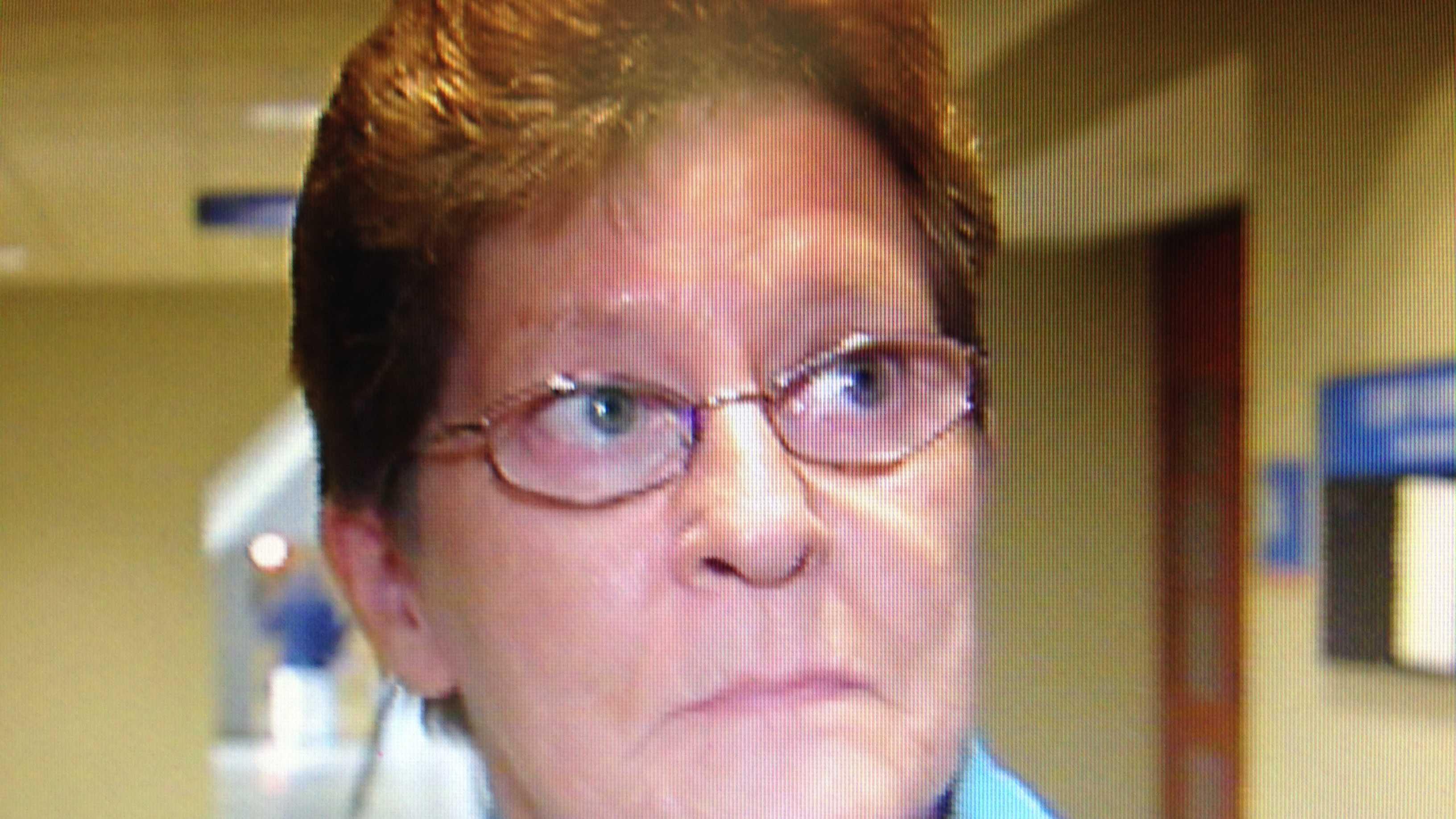 Linda Gadapee, of East Haven, Vermont, spoke after Allen Prue's conviction for the murder of her niece, Melissa Jenkins.