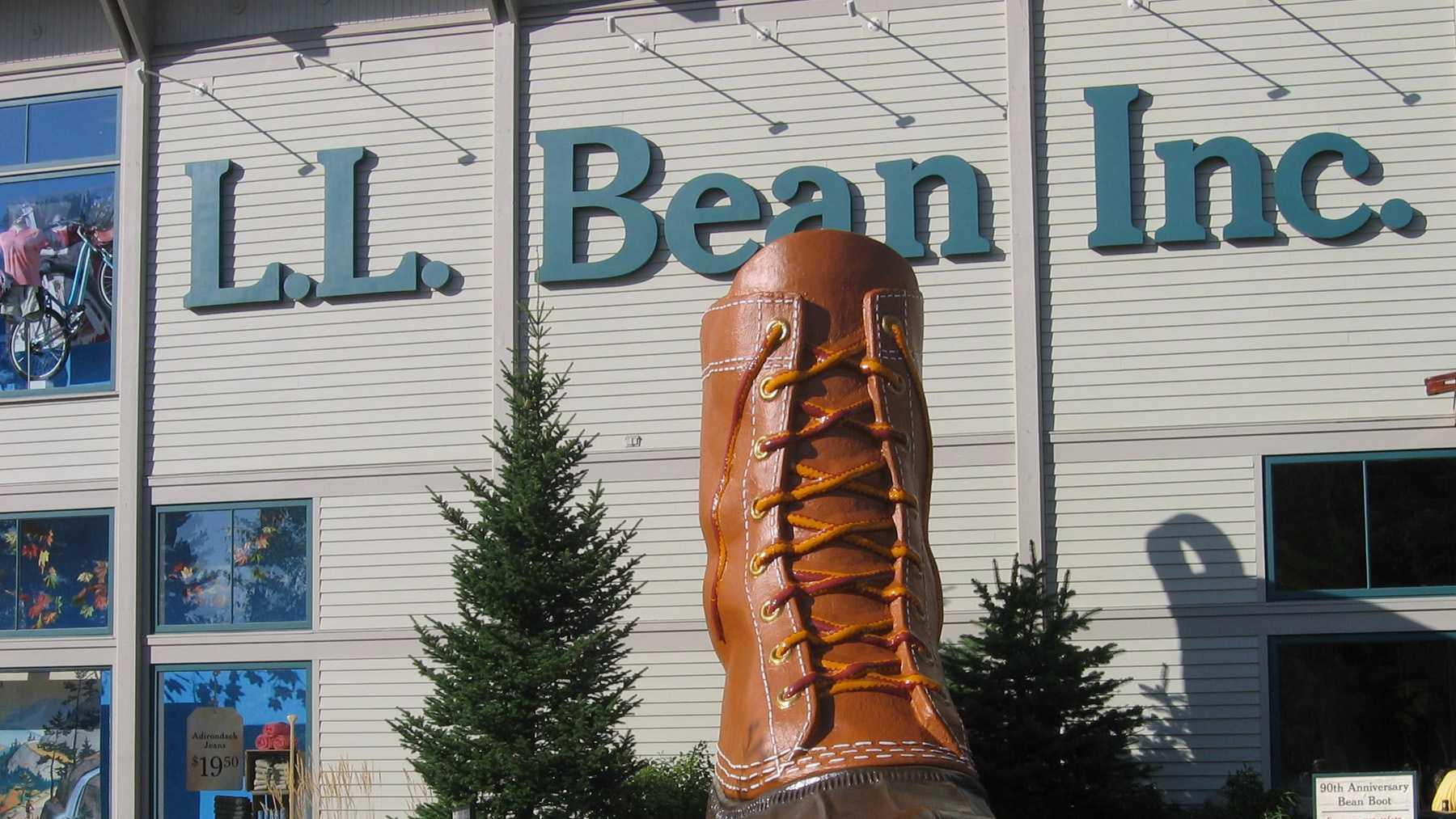 L.L. Bean headquarters in Freeport, Maine.