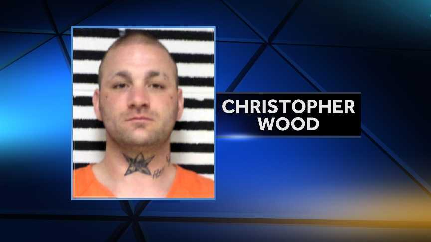 Christopher M. Wood was arrested in St. Johnsbury last week after a traffic stop and police discovered he was wanted on warrants stemming from an alleged April hammer attack in Cherokee County, Iowa.