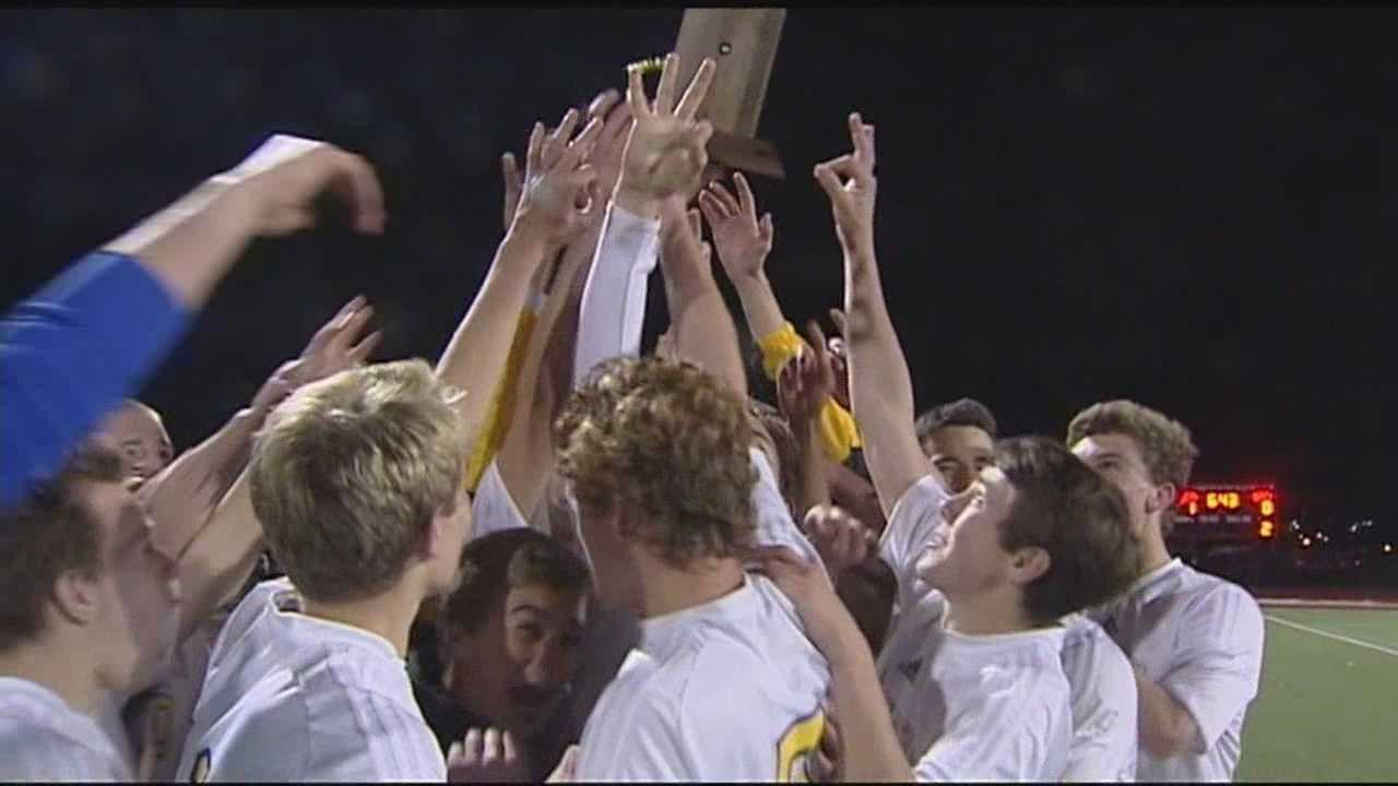 The Lake Placid boy's needed OT, and NAC girl's race to the game winner, take C titles.