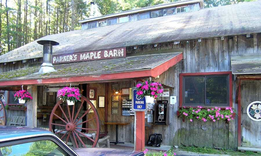 Maple Coffee from Parker's Maple Barn in Mason, NH