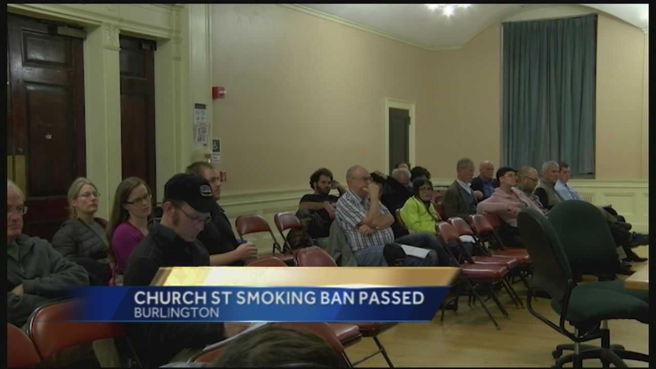 Resolution will ban smoking on the block 24/7