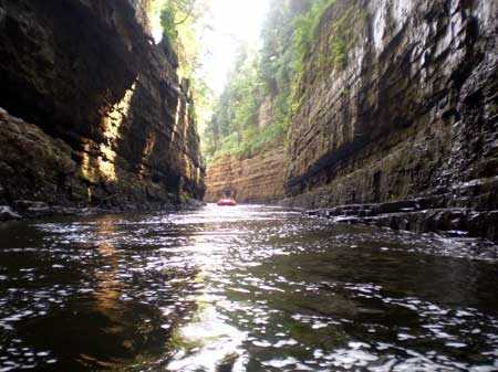 A weekend trip to Ausable Chasm Adventure in Ausable Chasm, NY