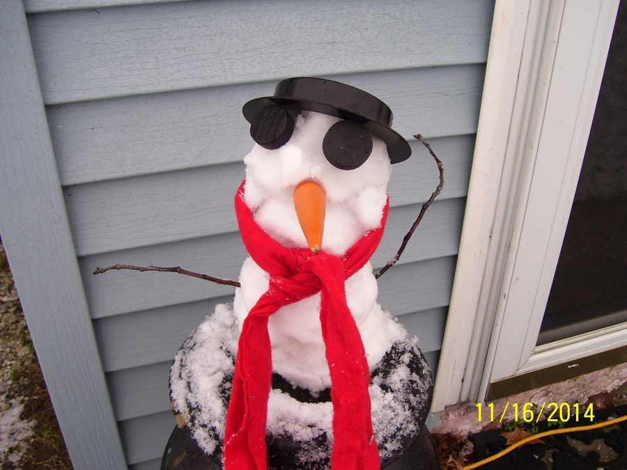Highgate, Vt. Snowman