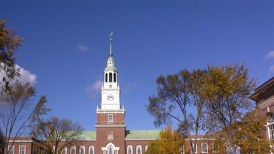 Dartmouth College, Hanover, NHAverage Debt of 2013 Graduates: $15,660