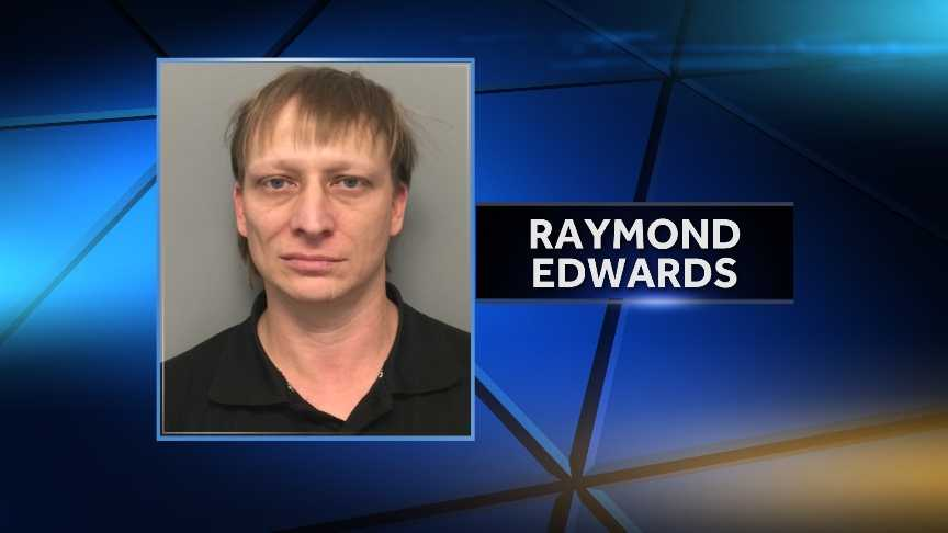 Raymond Edwards, 39, of Burlington, was arrested Thursday on charges of sexual assault on a minor, possession of child pornography and voyeurism. Vermont Internet Crimes Against Children Taskforce arrested Edwards Thursday after executing a warrant at his Burlington home.