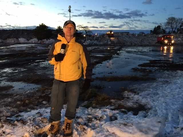 WPTZ's Chief Meteorologist Tom Messner reports live from West Seneca, N.Y.