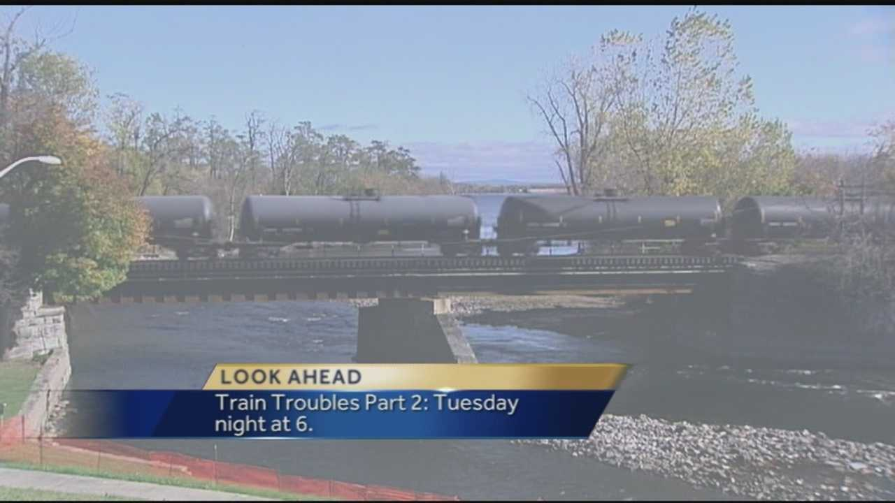 WPTZ's Stephanie Gorin has a look at her piece on oil trains Tuesday at 6:00 p.m. on WPTZ.