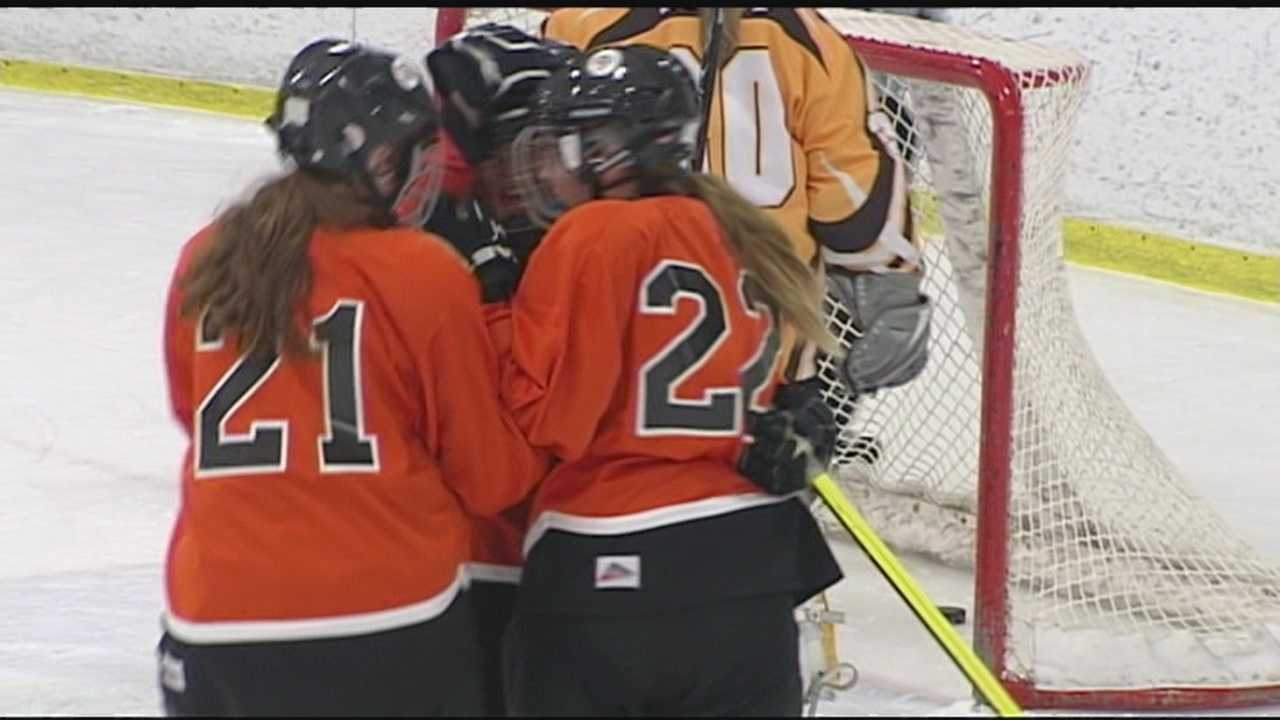 PHS girl's hockey opens their program with a win.