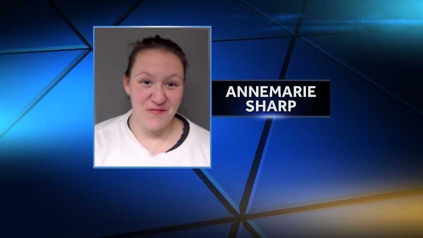 Vermont State Police arrested 31-year-old Annemarie Sharp on Nov. 23 on charges of driving under the influence, unlawful mischief and cruelty to children. Police say Sharp drove drunk with her kids in the car and smashed out the back window of her boyfriend's vehicle.