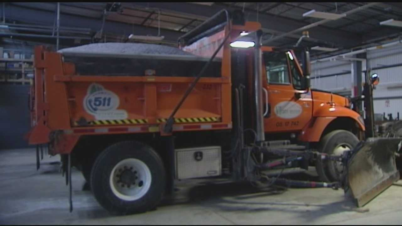 VTrans and Green Mountain Power get ready for Tuesday's storm.