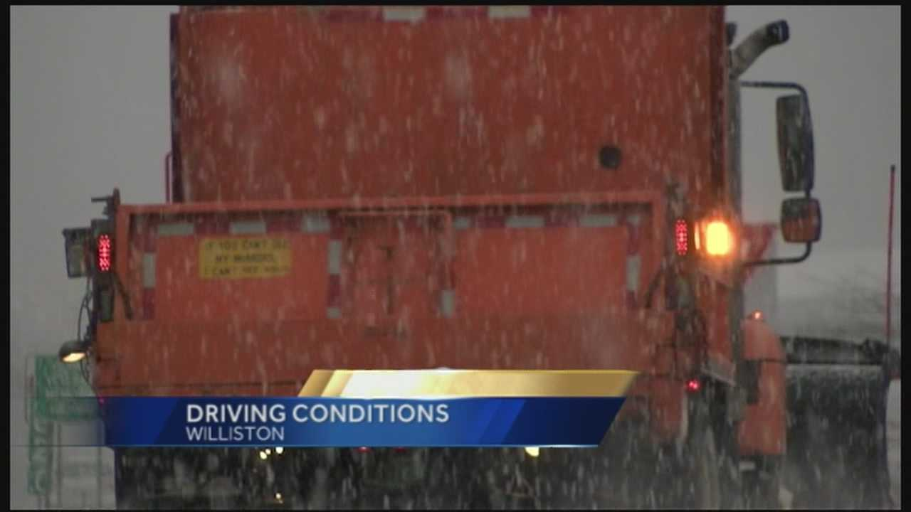 V-Trans warns drivers to take it slow on slick roads