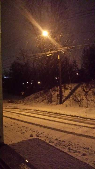 Ticonderoga snow from Ella Burke.