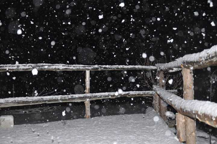 Julie Parks Lonergan sent this photo of the snow in Brandon.
