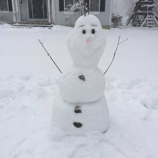Wait a minute, no one told me Olaf was in town!!!!!!!!