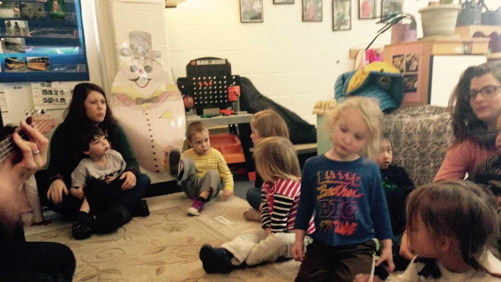 Youngsters enrolled in the preschool program at Ira Allen School in Burlington.