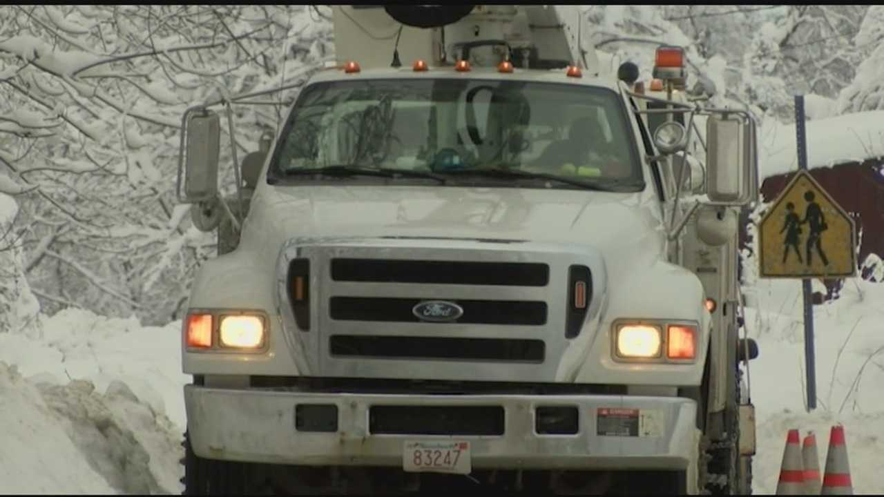 On Sunday there were still a couple thousand Vermonters left in the dark, as crews worked to restore power.
