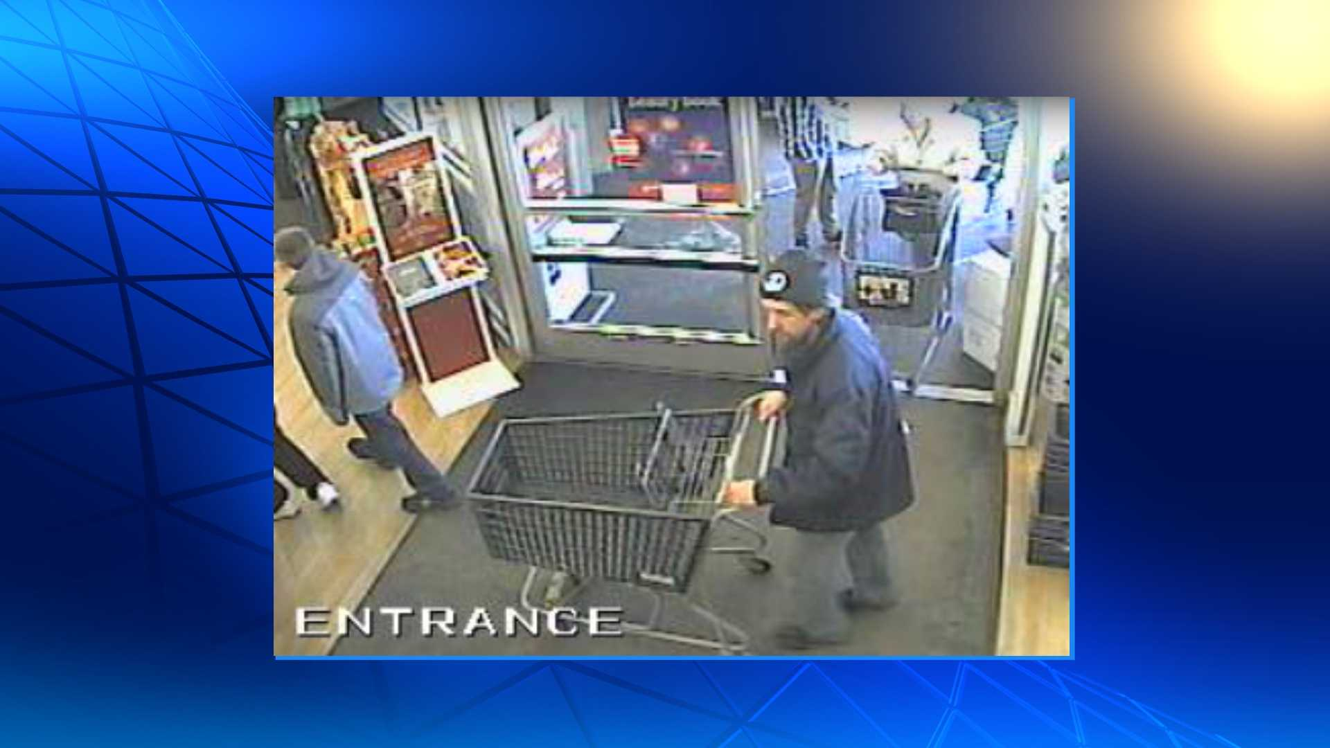 Man suspected of theft