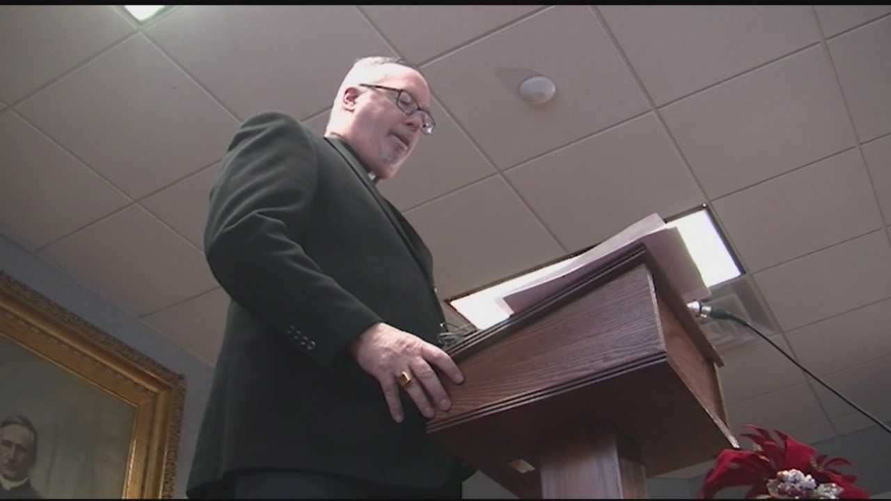 Bishop Coyne returns to New England