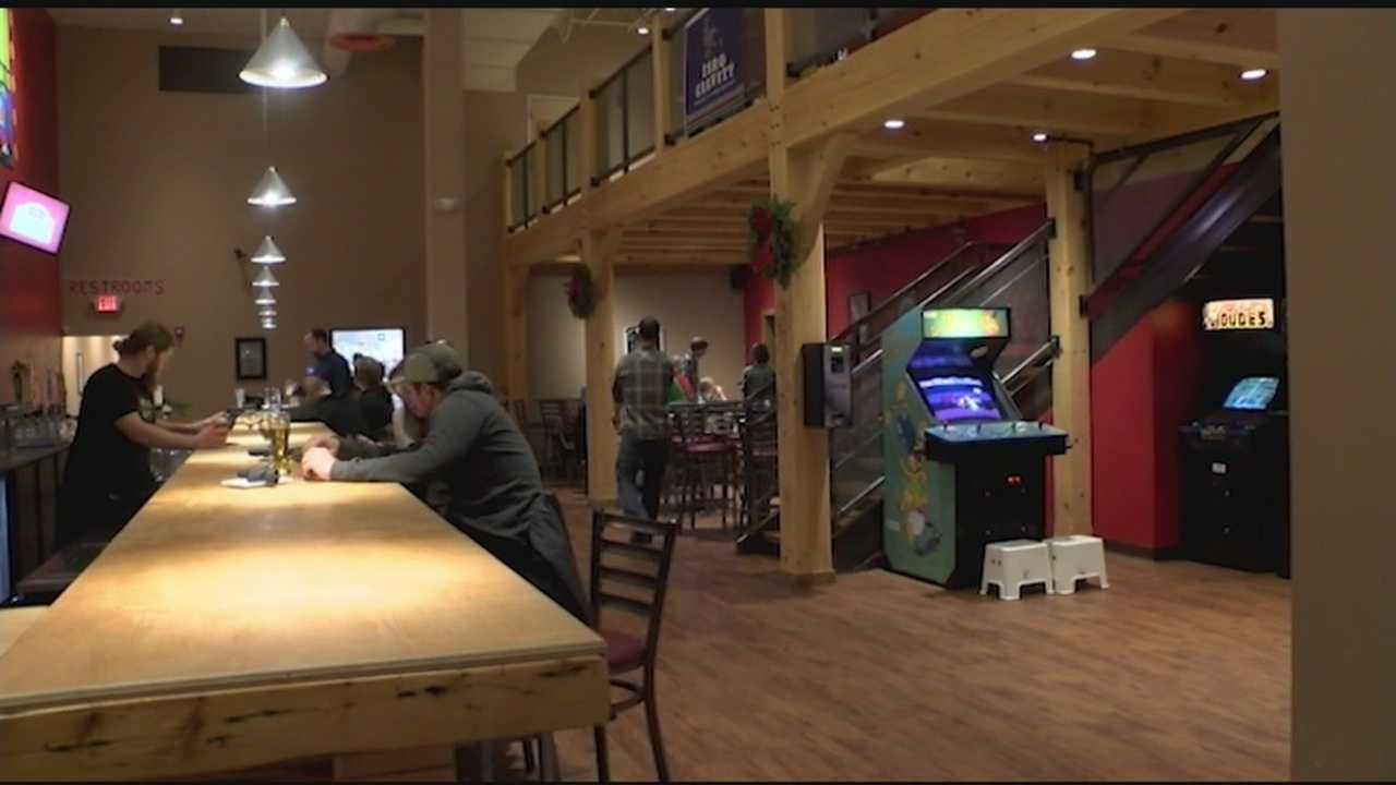 People enjoy drinks and arcades at Tilt in South Burlington called Tilt. Vermont's arcade bar industry could soon be getting some new competition.
