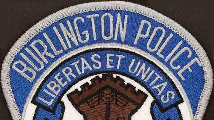 Logo Burlington Police