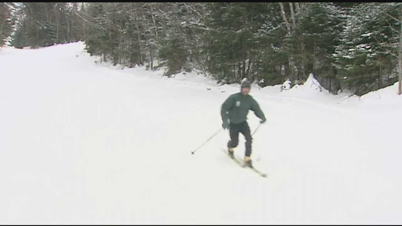 Hundreds head to Mad River Glen for skiing on the first day of 2015.