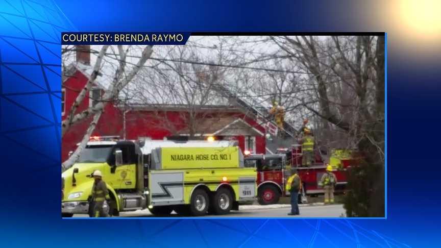 Update: Multiple fire crews battled a chimney fire&#x3B; the Champlain Fire chief confirms.