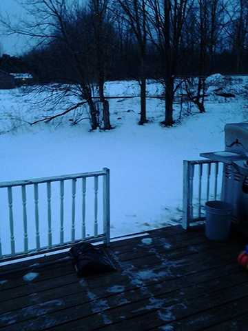 Kristina Liebfred took this photo in West Chazy, N.Y.