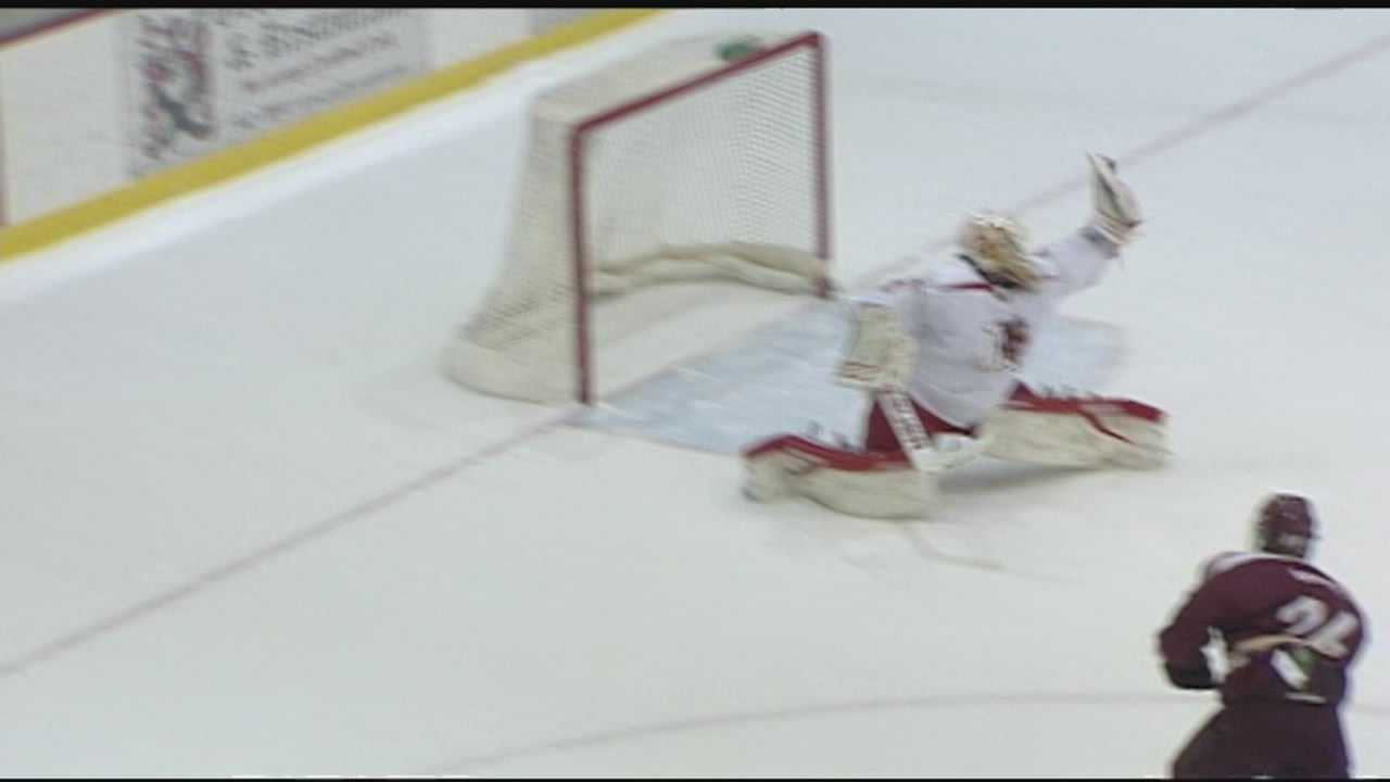 Plattsburgh men's hockey gets grudge match win over Norwich