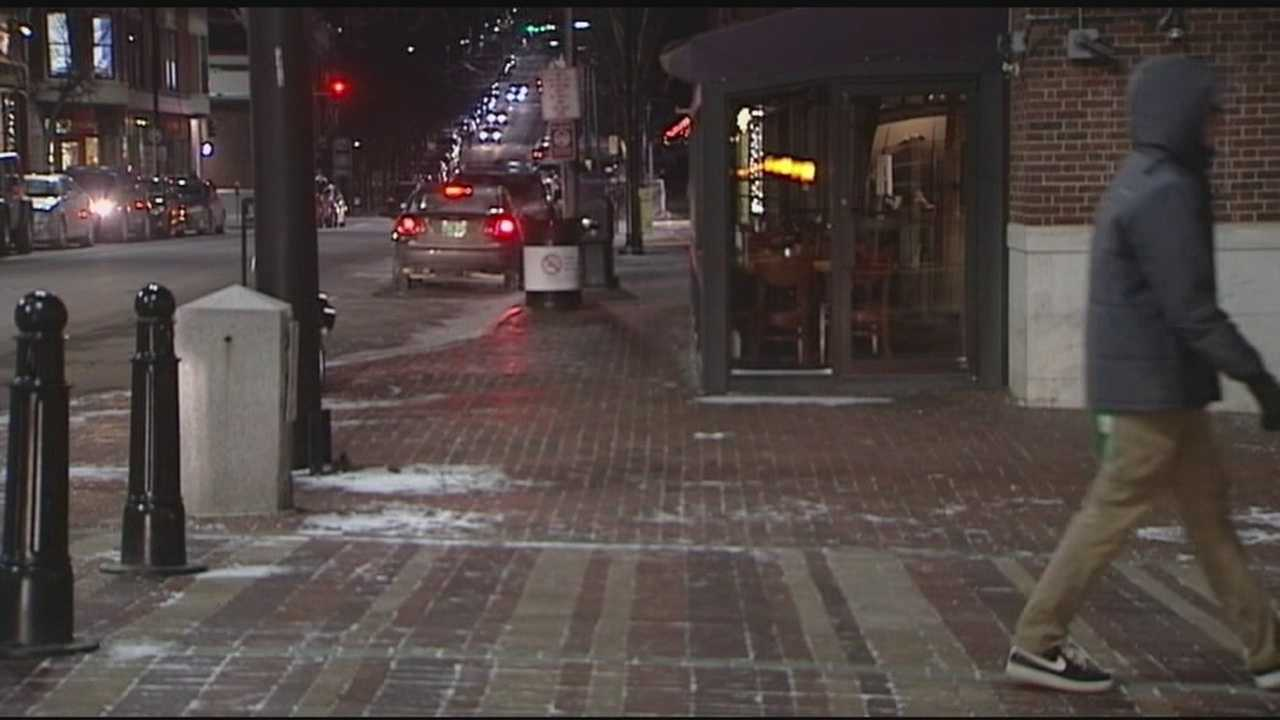 On Wednesday night not too many people were out due to the weather, but those who work at Church Street restaurants say the cold doesn't have too much of an impact on business.