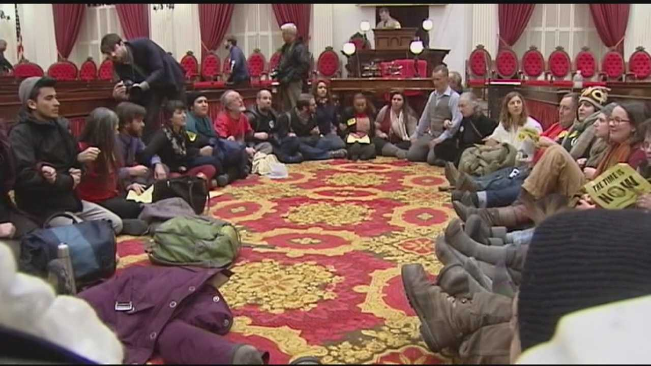 After health care protesters were dragged out of house chambers, what's next for health care reform and single payer in Vermont?