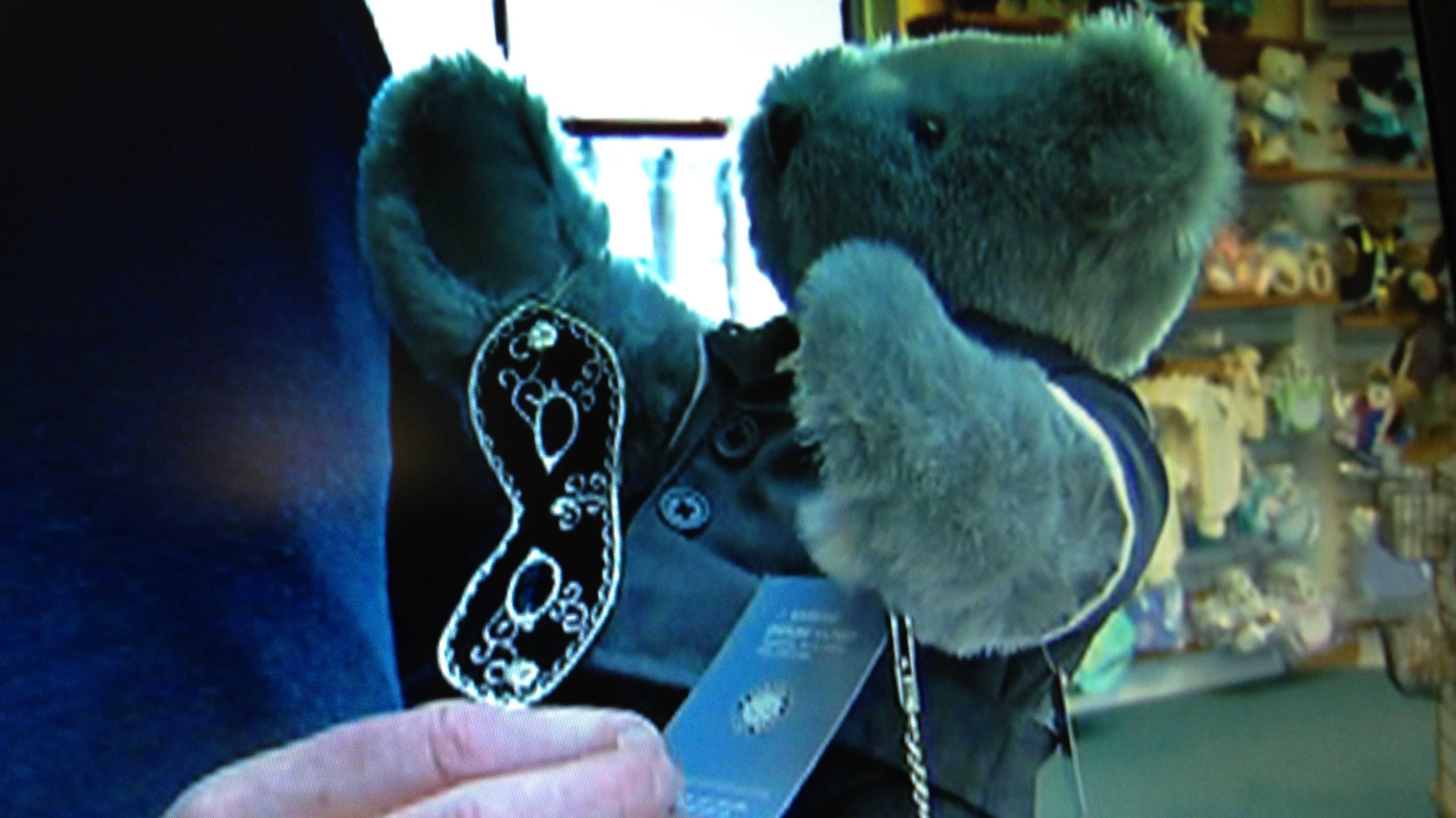 Vermont Teddy Bear's '50 Shades of Grey - Christian Grey Bear.'