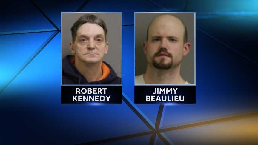 New York State Police arrested Jimmy J. Beaulieu, 31, of Ogdensburg, and Robert C. Kennedy, 49, of Tupper Lake, on January 26, 2015 for allegedly assaulting a patient at Sunmount Developmental Disabilities Service Offices. Police allege the pair, who worked for Sunmount, tried to cover up the assault. They are with charged with endangering the welfare of an incompetent person, falsifying business records, assault and making a false written statement.